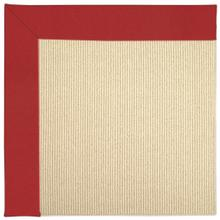 """View Product - Creative Concepts-Beach Sisal Canvas Jockey Red - Rectangle - 24"""" x 36"""""""
