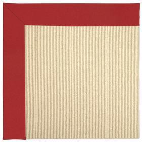 Creative Concepts-Beach Sisal Canvas Jockey Red - Rectangle - Custom