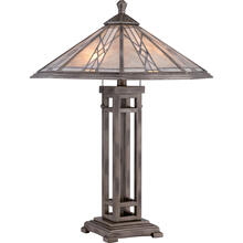 Cyrus Table Lamp in Anniversary Silver