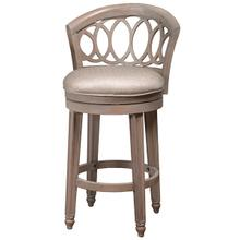 Adelyn Swivel Counter Height Stool, Antique Graywash