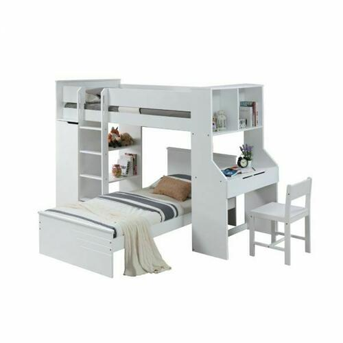 ACME Ragna Loft Bed - 38060 - White