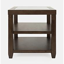 Urban Icon End Table-merlot