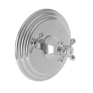 Satin Nickel - PVD Balanced Pressure Shower Trim Plate with Handle. Less showerhead, arm and flange.