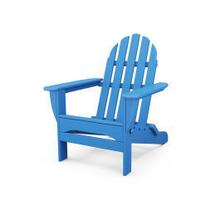View Product - Classic Folding Adirondack in Pacific Blue