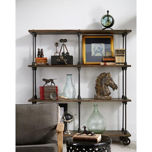 Rockwell Wooden Bookshelf-natural Antiqu