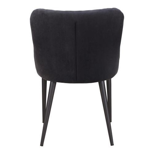 Etta Dining Chair Dark Grey