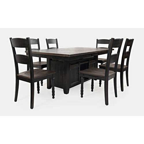 Madison County High/low Table W/(4) Chairs