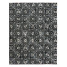 "Siam-Flower Grey - Rectangle - 3'6"" x 5'6"""