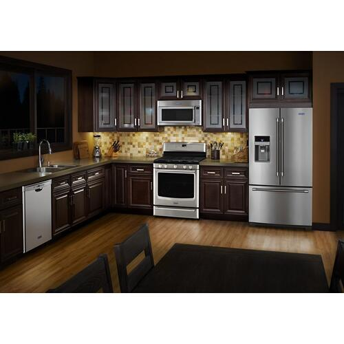 Gallery - 30-inch Wide Gas Range with Convection and Power Burner - 5.8 cu. ft.