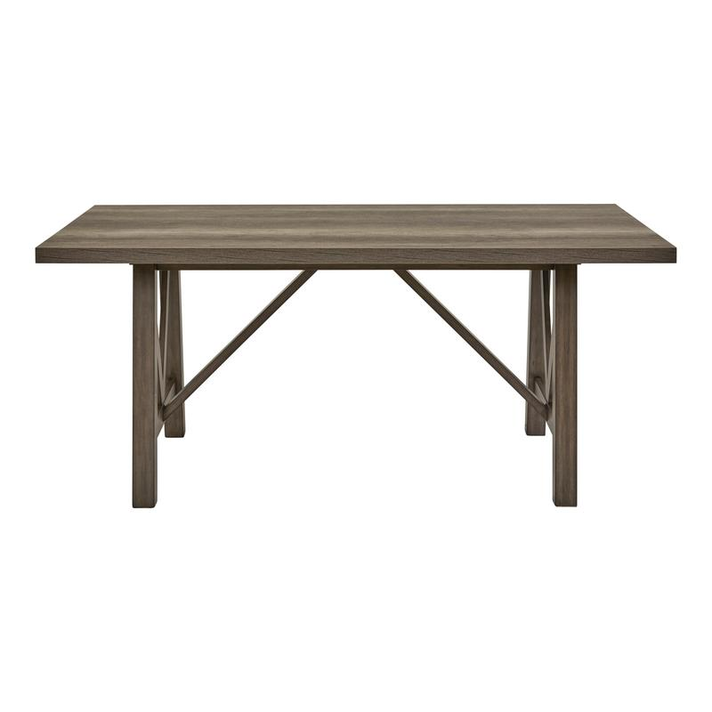 Ashland Trestle Dining Table Top & Base