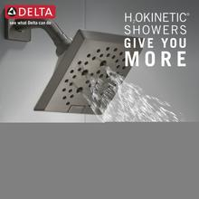Black Stainless Monitor ® 17 Series H2Okinetic ® Tub and Shower Trim
