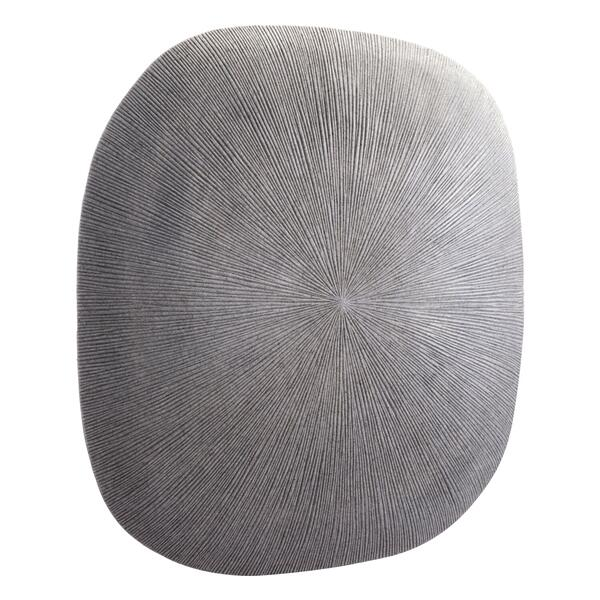 See Details - Large Square Granite Plaque Light Gray