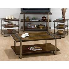 View Product - Rectangle Cocktail Table W/ Shelf