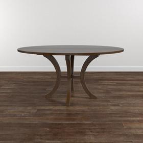 "Custom Dining 48"" Wood Table w/Atlas Base"