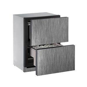 "U-Line24"" Refrigerator Drawers With Integrated Solid Finish (230 V/50 Hz Volts /50 Hz Hz)"
