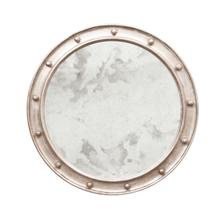 Our Large Round Antique Mirror Is the Essential Accent for Your Entry Hall or Bathroom Vanity. Its Federal Style Frame Is Hand Finished In Shimmering Champagne Silver LEAF.