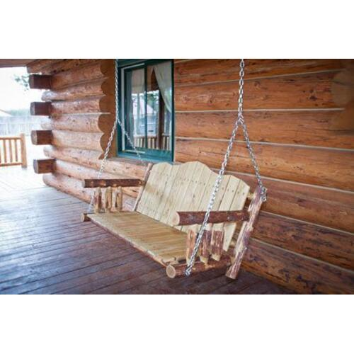 Glacier Country Collection Porch Swing