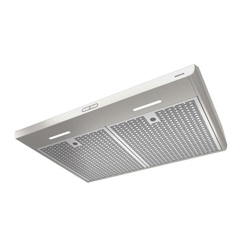 Broan® 30-Inch Convertible Under-Cabinet Range Hood, 300 CFM, Stainless Steel