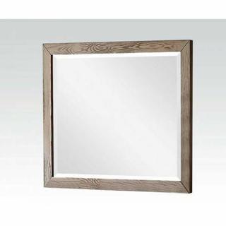 ACME Inverness Mirror - 66086 - Salvage Oak