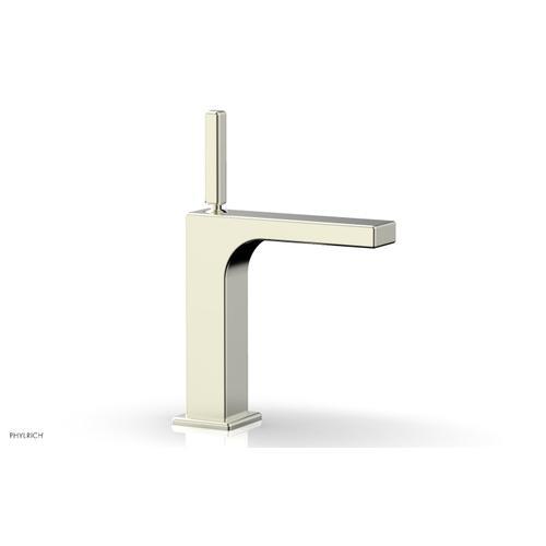 MIX Single Hole Lavatory Faucet, Blade Handle 290-06 - Satin Nickel