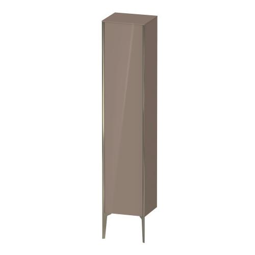 Tall Cabinet Floorstanding, Cappuccino High Gloss (lacquer)