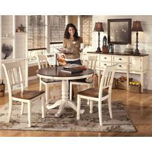 Whitesburg - 4 Chair Dinette
