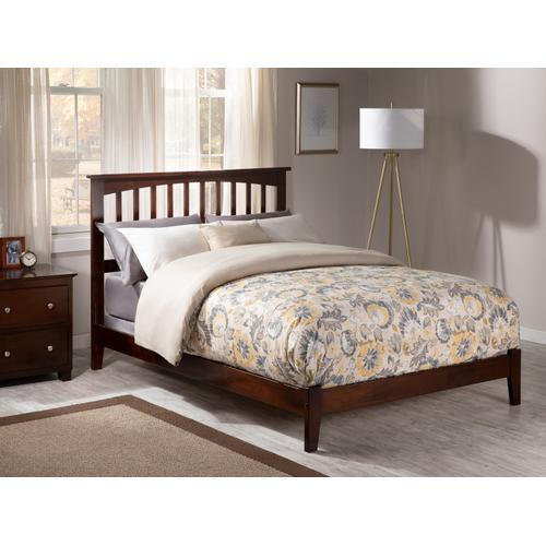 Mission Full Bed in Walnut