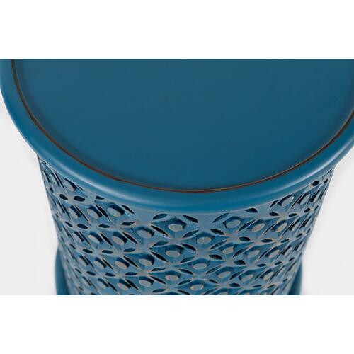 Global Archive Drum Table-blue