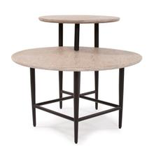 View Product - Duo Height Round Coffee Table