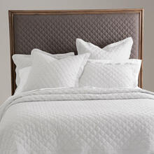 Oslo 6pc KIng Quilt Set White