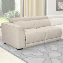 NOHO - BISQUE Power Left Arm Facing Loveseat