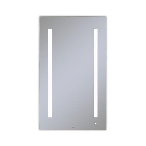 """Aio 23-1/8"""" X 39-1/4"""" X 1-1/2"""" Lighted Mirror With Lum Lighting At 4000 Kelvin Temperature (cool Light), Dimmable and Usb Charging Ports"""