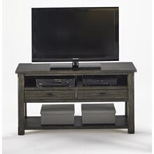 Entertainment Console - Dark Birch Smoke Finish