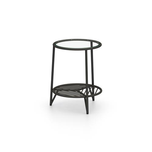 Four Hands - Dali Outdoor End Table-bronze