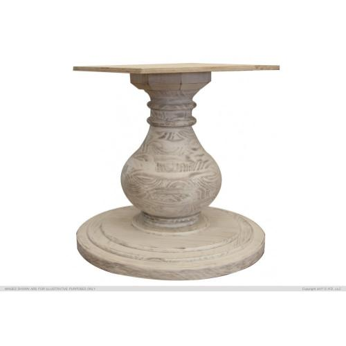 Turned Wooden Table Base