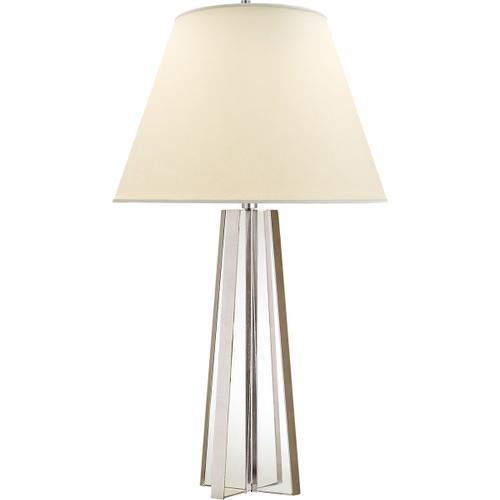 Visual Comfort - Alexa Hampton Lila 34 inch 100.00 watt Crystal with Silver Table Lamp Portable Light