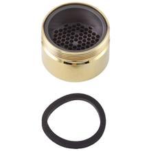 See Details - Polished Brass Stream Straightener - Roman Tub