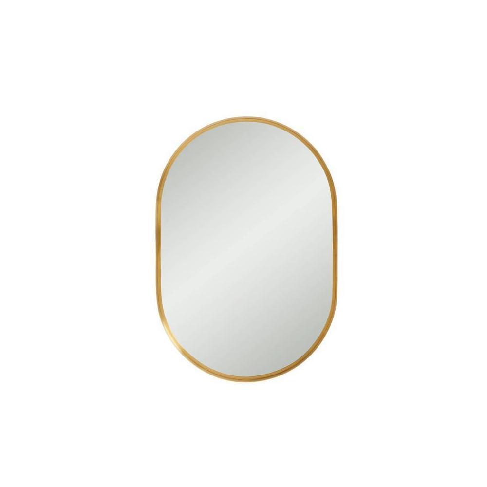 Panavista Capsule Mirror - Satin Brass
