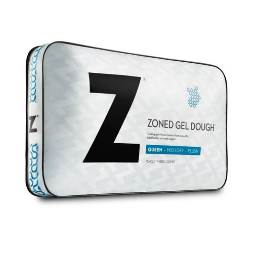 Zoned Gel Dough Travel Neck Low Loft