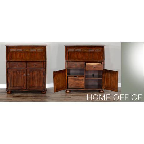 Santa Fe Drop Leaf Laptop Desk