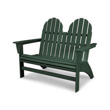 Green Vineyard Adirondack Bench