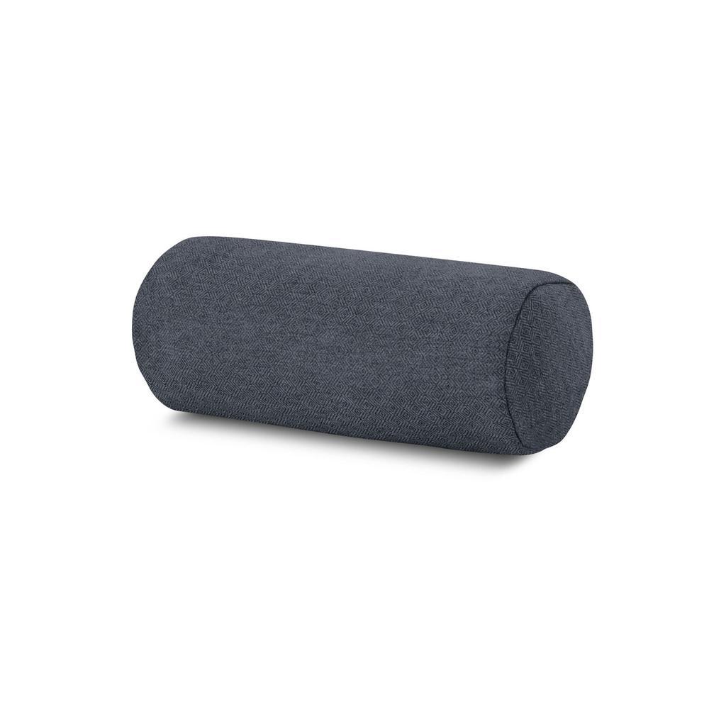 Sancy Denim Outdoor Bolster Pillow