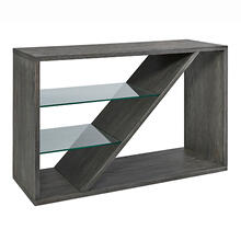 Sofa/Console Table - Weathered Slate Finish
