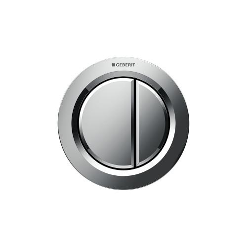 Type 01 Remote flush buttons for Sigma and Omega series in-wall toilet systems Furniture installation, Sigma or Omega 2x6 in-wall systems Compatibility Polished chrome Finish