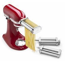 See Details - 3-Piece Pasta Roller & Cutter Set - Other
