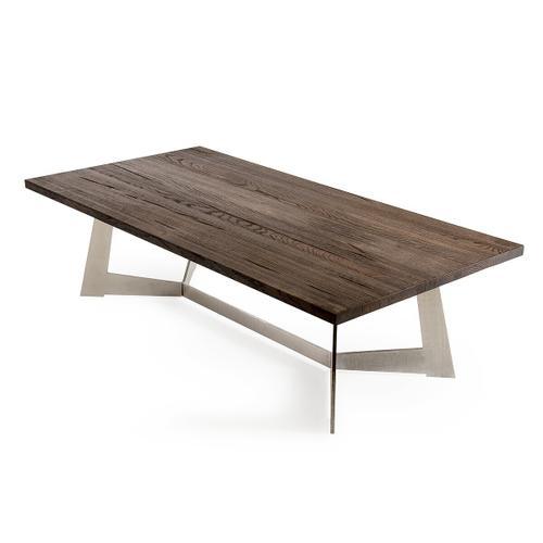 VIG Furniture - Modrest Wharton Modern Dark Aged Oak Coffee Table