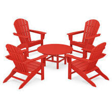 View Product - 5-Piece Conversation Group in Sunset Red