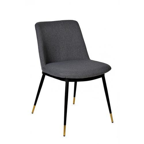 VIG Furniture - Modrest Batson Modern Grey Fabric Dining Chair (Set of 2)