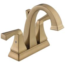 See Details - Champagne Bronze Two Handle Centerset Bathroom Faucet