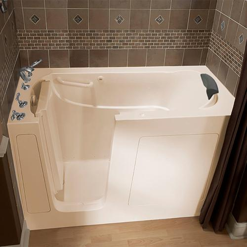 Premium Series 30x60-inch Walk-In Tub with Air Spa System  American Standard - Linen